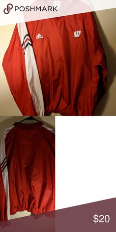 Wisconsin Badgers pullover (L) NWOT Awesome Wisconsin gear. Official collegiate product. collegiate official Jackets & Coats