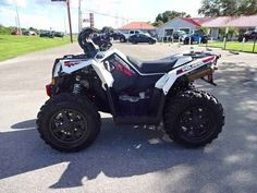 Used 2015 Polaris Scrambler XP® 1000 EPS ATVs For Sale in Florida. -401/54 MILES/HOURS -This 2015 Polaris Scrambler 1000 is spotless, only 54 hours on it and like new. Front mounted LED light bar, Highlifter snorkel kit, otherwise stock and ready to go! -$9,799.00