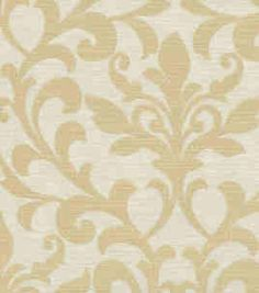 Beige damask fabric