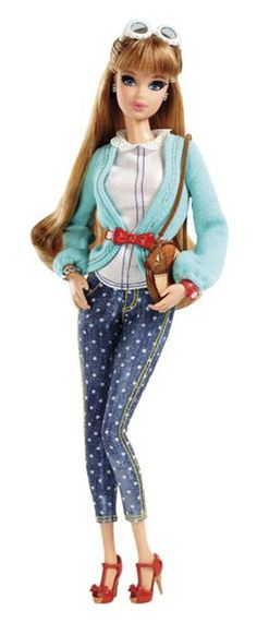 Barbie | Barbie Glam Luxe Style: Segundo Wave 2014 | Barbie Girl Collectible