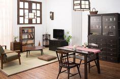 和家具ならではの落ち着きが現代に馴染む、こだわりの和モダン部屋。