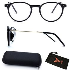 b81f8692db CPS Clear Vision Driving Distance Myopia Farsighted Nearsighted Focus Men  Women Unisex Computer Anti Eyestrain Glasses Negative Strength UV  Protection with ...