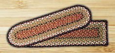 Braided Jute Earth Rugs Stair Treads Oval New Many Colors | eBay