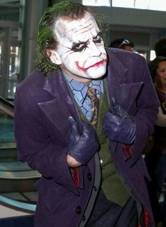 The Joker. Wondercon 2013.