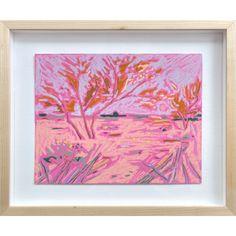 Colored Paper, Pastel, Landscape, Frame, Artwork, Gifts, Painting, Oil, Inspiration