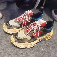 quality design c105e 1c801 Valenciaga 2017 FW Sneakers Valenciaga, Usados, Zapatos, Compras, Zapatos  De Balenciaga,
