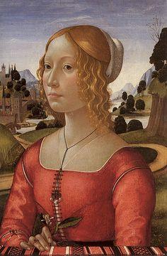 Portrait of a Lady (Giovanna degli Albizzi?)