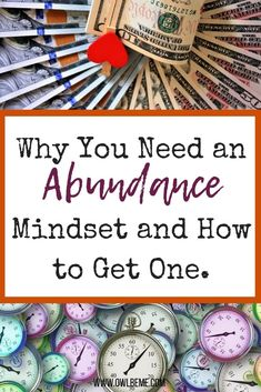 Having an Abundance