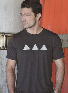 Mens Tshirt  Heather Gray  Mens Clothing  by weareallsmith on Etsy