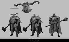 Cg Art, Dark Fantasy, Great Britain, Game Art, Concept Art, Creatures, Artwork, Studios, Fictional Characters