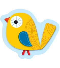 """This eye-catching, contemporary design will jazz up any classroom! These Boho Bird Mini Cut-Outs can be used for more than just decoration! Use them for sorting activities, game pieces, calendar activities, to brighten cubbies, and much more. This 36-piece pack includes a single die-cut design on card stock. Each cut-out is approximately 3"""" x 3"""". Look for coordinating products in this design to create an exciting classroom theme your students will never forget!"""