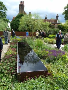 corten pond - Tom Stuart Smith