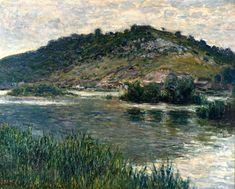 3607 Paisaje en Port-Villez - Claude Monet - Wikipedia, la enciclopedia libre