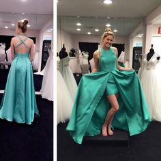 Long Sexy Party Graduation Dresses Juniors Evening Dress