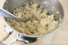How to Cook Quinoa: Step by Step - Low Carb, keep track of the amount you eat.