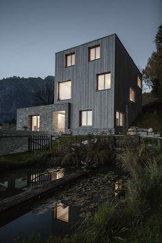 LP architektur, Leogang, Einfamilienhaus, Kranawendter, Hanglage, Albrecht Imanuel Schnabel