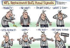 Ref hand signal