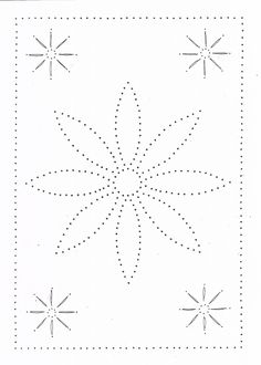 Tin Punch Patterns :: P 1070 Five Flowers or 10 x 14 - Pierced Tin Designs String Art Templates, String Art Patterns, Stencil Templates, Paper Embroidery, Hand Embroidery Designs, Embroidery Patterns, Punched Tin Patterns, Paper Piercing Patterns, Candlewicking Patterns