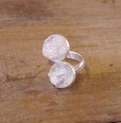 Mozaie,. ring, wit, glas
