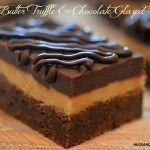 Peanut Butter Truffle Chocolate Glazed Brownies - These are amazing! Peanut Butter Truffles, Peanut Butter Desserts, Brownie Recipes, Cookie Recipes, Dessert Recipes, Chocolate Glaze, Chocolate Desserts, Chocolate Brownies, Just Desserts