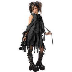 Dark Mummy Adult Costume  $29.99
