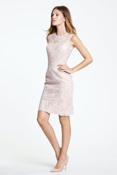 Watters Maids Dress Carita: can vary the color of the lace, lining, and belt.