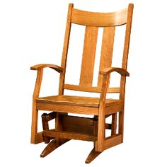 USA Made Amish Rocking Chairs & Gliders : Amish Summit Glider :: Baby Eco Trends