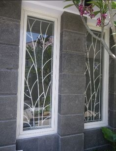 Stunning Wrought Iron Design Ideas That Are Truly Amazing - Genmice Window Grill Design Modern, Grill Door Design, Gate Design, Window Design, House Design, Iron Windows, Windows And Doors, Window Security Bars, Window Bars