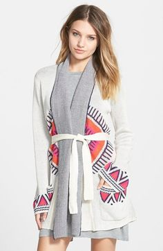 Billabong 'Indian Summer' Cardigan available at #Nordstrom
