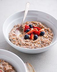 Brown Sugar and Cinnamon Bulgur Breakfast Bowl Recipe