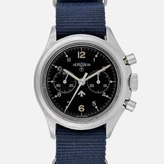 """Why This Watch Matters Stamped with the """"broad arrow"""" and Israeli military markings, this isn't your average Lemania chronograph. The Full Story Like Omega and Hamilton before them, Lemaniaprovided watches to the military, beginningin the 1940s with the British forces. Later Lemania would provide watches for the Swedish, South African, and Israeli Defense Forces; this particular example was produced for the latter. The Lemania chronograph you see here is from the 1970s and has the..."""