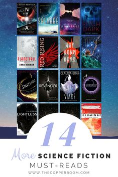 BOOKS FOR DAYS! You'll be ready to blast off in t-minus 14 reads. These Science Fiction must-reads include some tried and trusted favourites as well as some fresh new voices. It's just what you need to add a sprinkle of stardust to your bookshelf. BEAM ME UP!