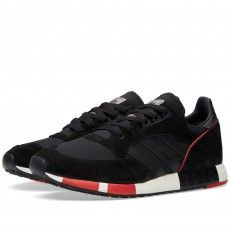 dfbf09633a46b Buy the Adidas Boston Super in Core Black   Collegiate Red from leading  mens fashion retailer END.