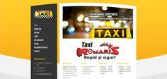 Site companie taxiuri www.romaristaxi.ro