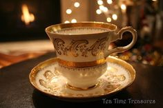 From my blog: Something Special - Tea Cup