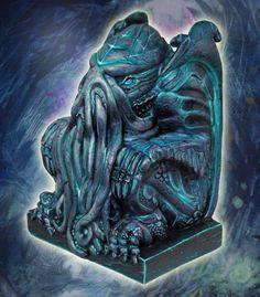 Elder God Statue from Antimatter-games.com