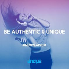 Be Authentic and Unique - photo by Bruce Mars. #authentic #unique #newyear2018 #newyearresolution #blue #yourbrandsolution #packaging #creative #branding #marketing #fun #happy #music