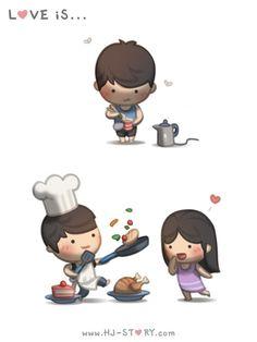 HJ-Story :: Amar é cozinhar