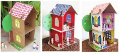 eco friendly doll house pdf giveaway by Dolls And Daydreams, via Flickr
