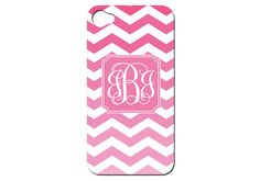 Ombre Chevron Print Custom iPhone Case  You Choose by ForChicSake, $39.99