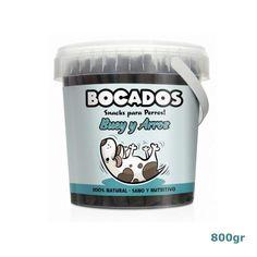 Bocados de Buey y Arroz - Snacks para perros Ben And Jerrys Ice Cream, Nutella, Lemonade, Mugs, Tableware, Desserts, Food, Omega 3, Fresco