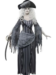 Halloween Costumes Women - Smiffy's Women's Ghost Ship Princess Costume, Dress and Hat, Ghost Ship, Halloween, Size 22970 >>> Visit the image link more details. (This is an affiliate link) Zombie Pirate Costume, Halloween Costumes For Sale, Female Pirate Costume, Halloween Outfits, Costumes For Women, Pirate Costumes, Ghost Costumes, Halloween Cosplay, Pirate Fancy Dress