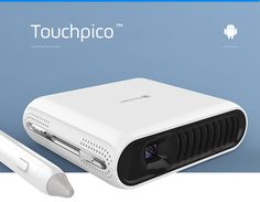"""Formerly TouchPico: A tiny handheld projector that turns any surface into a giant 80"""" touchscreen. 