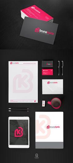 Cartão de visita produzido pela Quartel Design