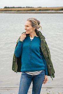 """Gull Island,"" by Kate Gagnon Osborne, knit with Fibre Company Luma."