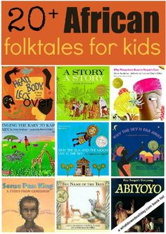 "Great African folktale picture books for kids- make sure to distinguish individual cultures and not generalize ""Africa."" #kidlit"