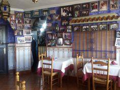Comedor del Asador Los Palancos de Zuheros, Córdoba