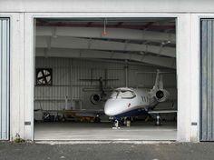 Hangar garage door