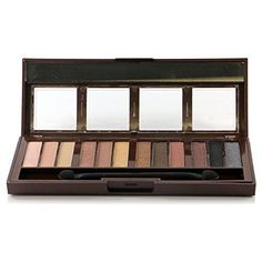 City Color Cosmetics Barely Exposed Eye Shadow Palette with Brush >>> Check out this great product. (This is an affiliate link) #MakeupPalette