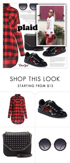 """""""Show us how you style plaid items"""" by sofi-danka ❤ liked on Polyvore featuring Kenzo, STELLA McCARTNEY and Alice + Olivia"""